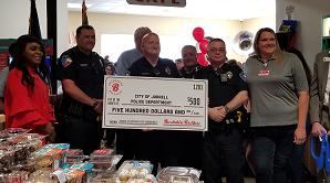 Police Donation