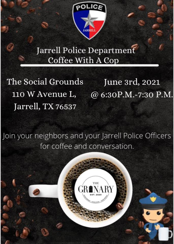 Coffee w/ Cop (June 2021)