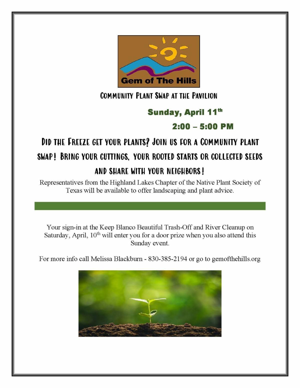 Community Plant Swap
