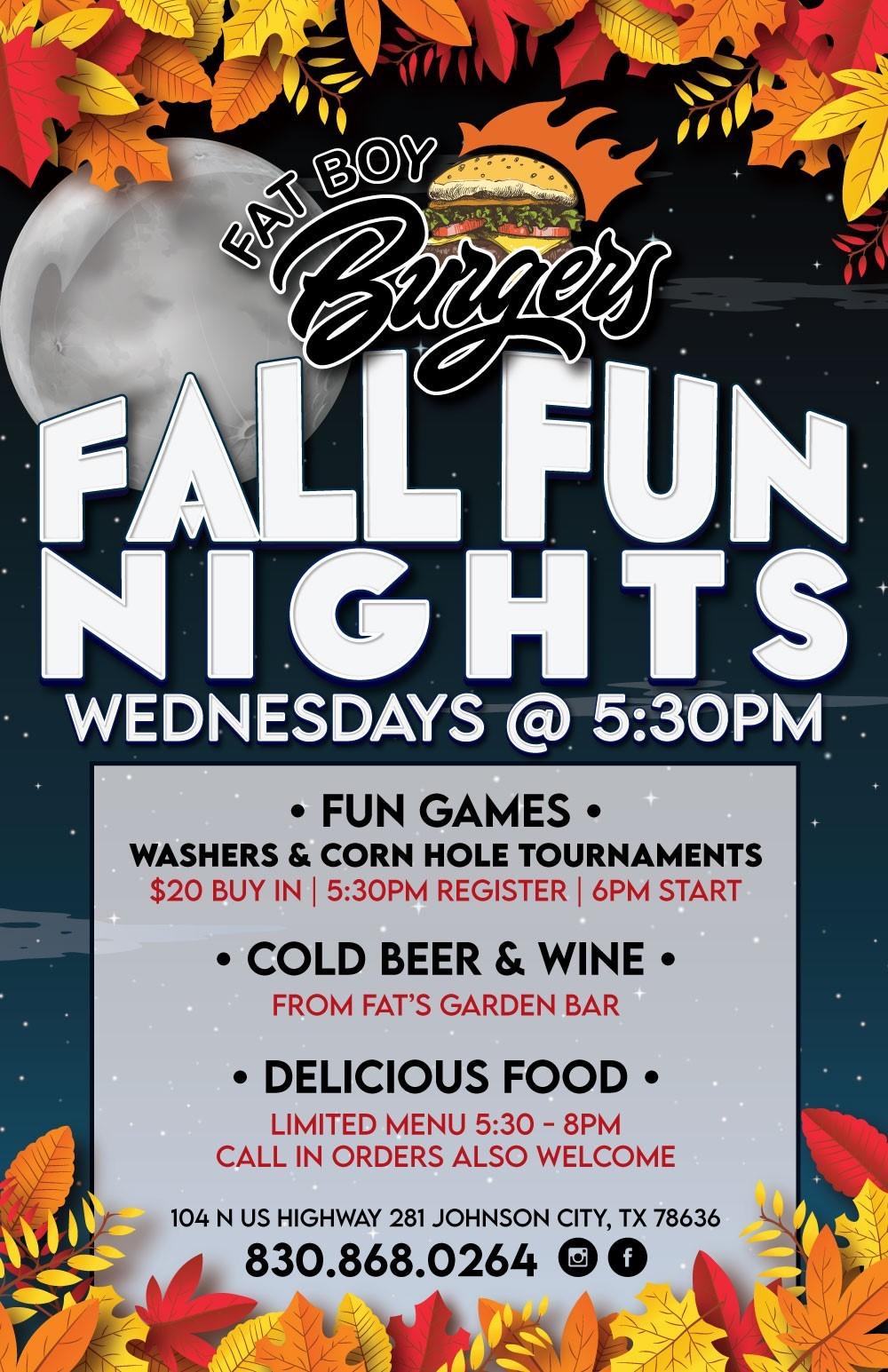 Fall Fun Nights