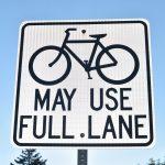 18-Bike lane sign