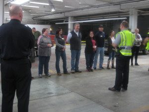 KLA class attends a SWAT team demonstration