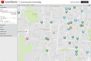 community crime map image
