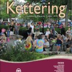 Cover image from summer 2018 Contact with Kettering