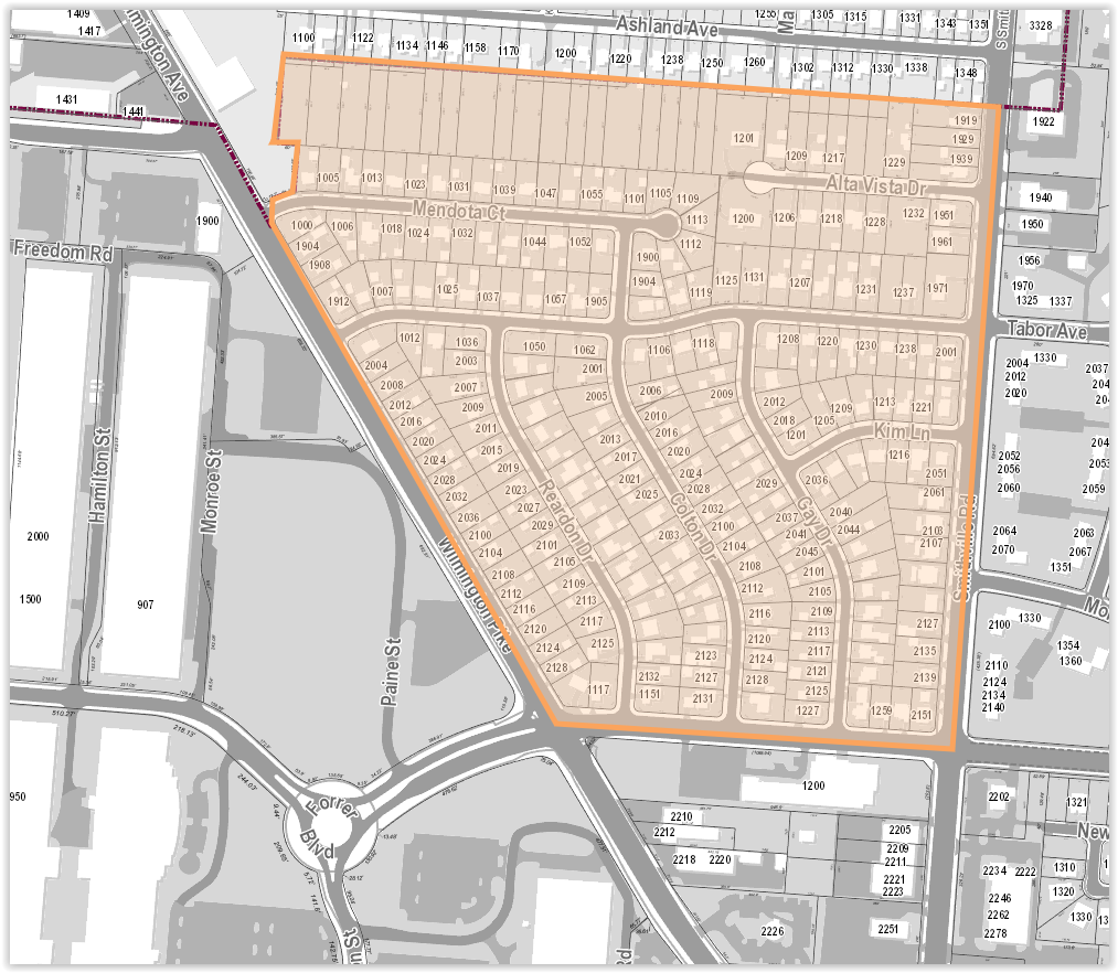 Haverstick Neighborhood Map