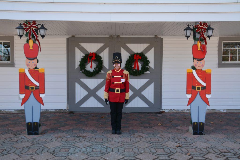 Christmas Day At Polen Farm Volunteer