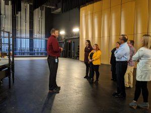 Kettering Leadership Academy touring Fairmont High School