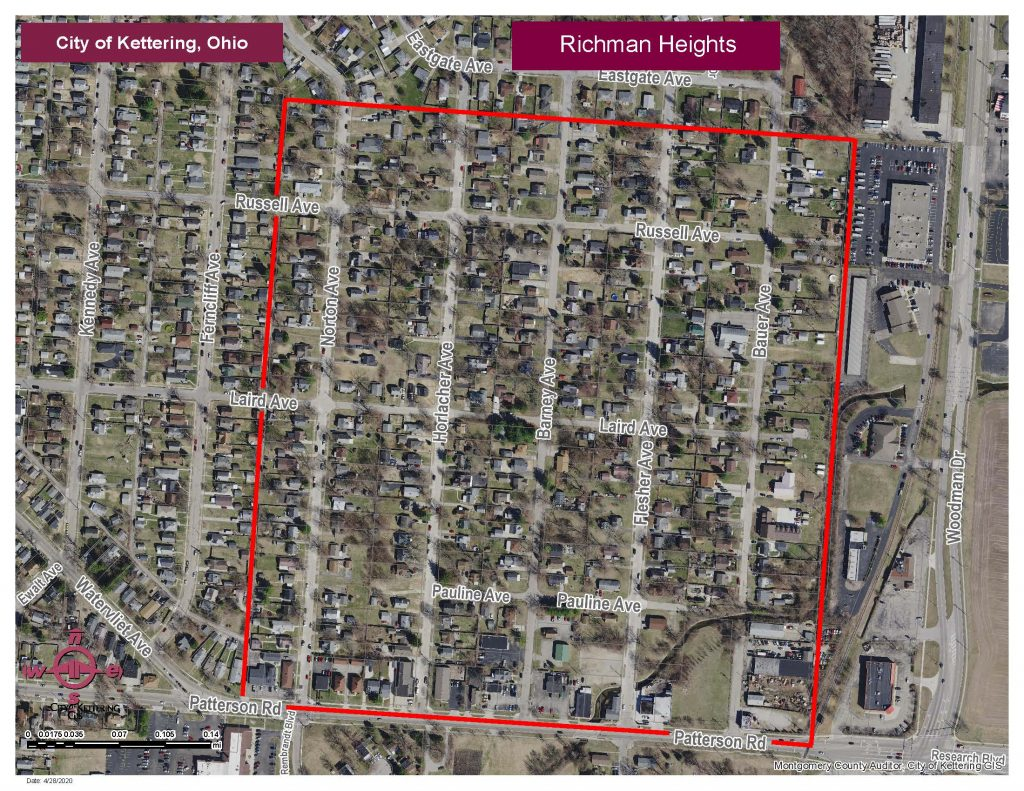 Richman Heights Map