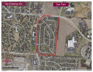 Oak Park Map