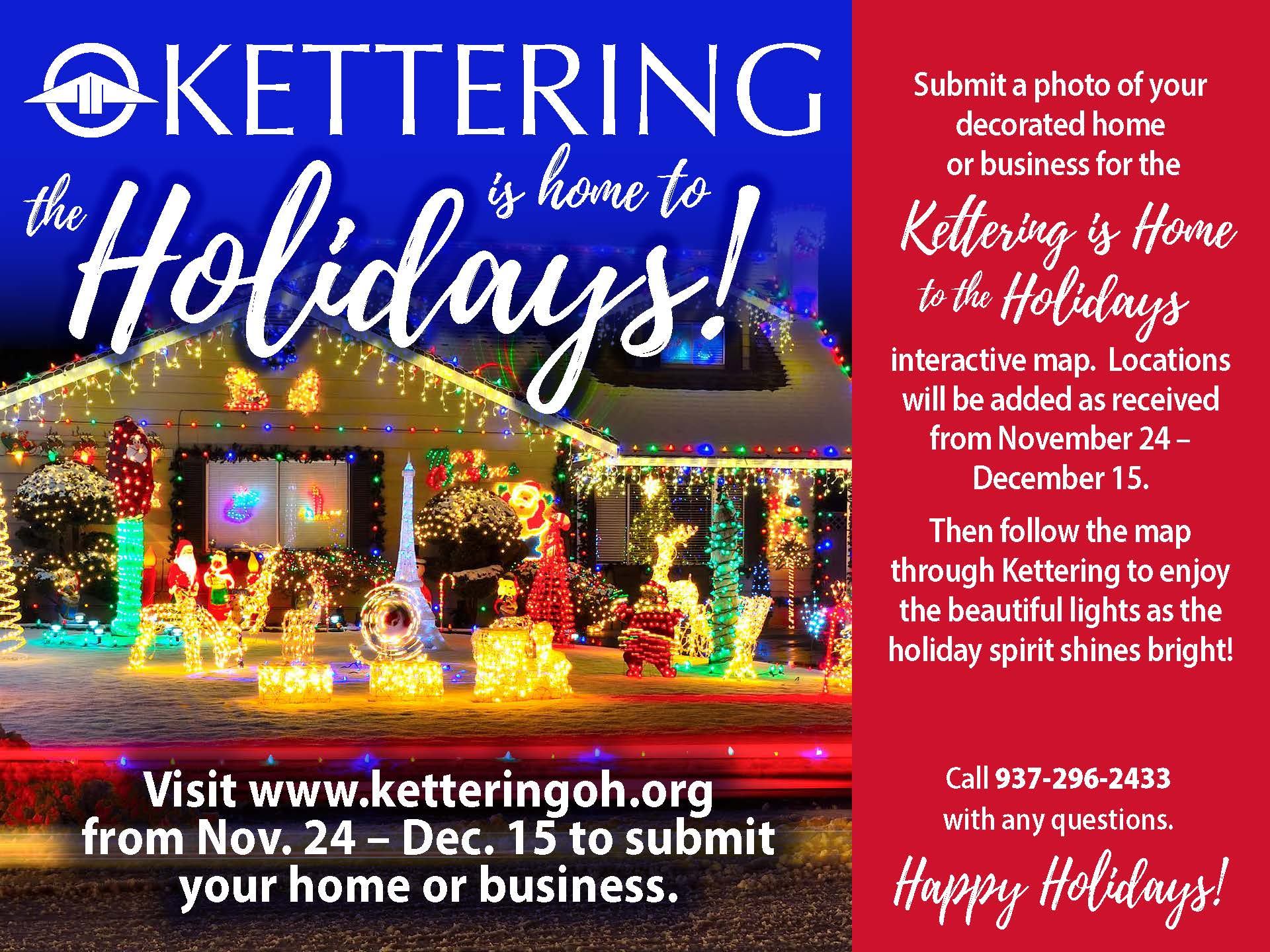 Kettering is Home to the Holidays
