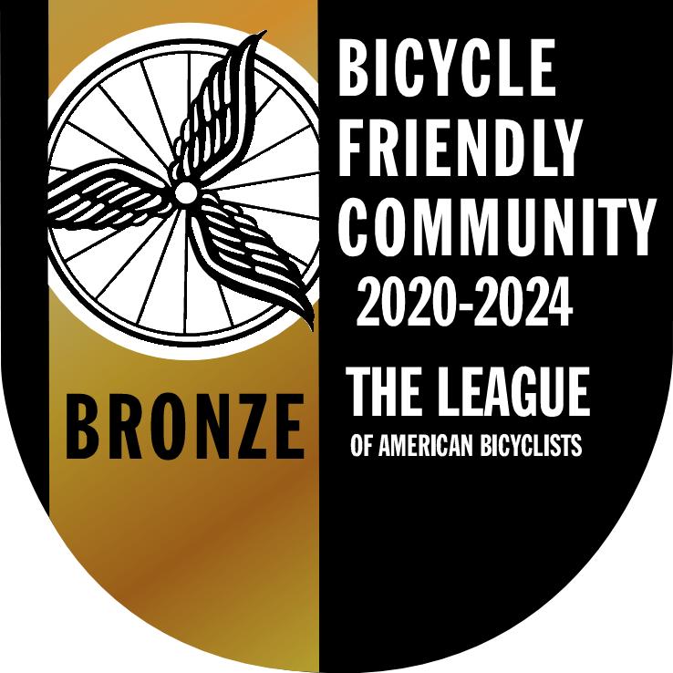 BFC Bronze Award sign