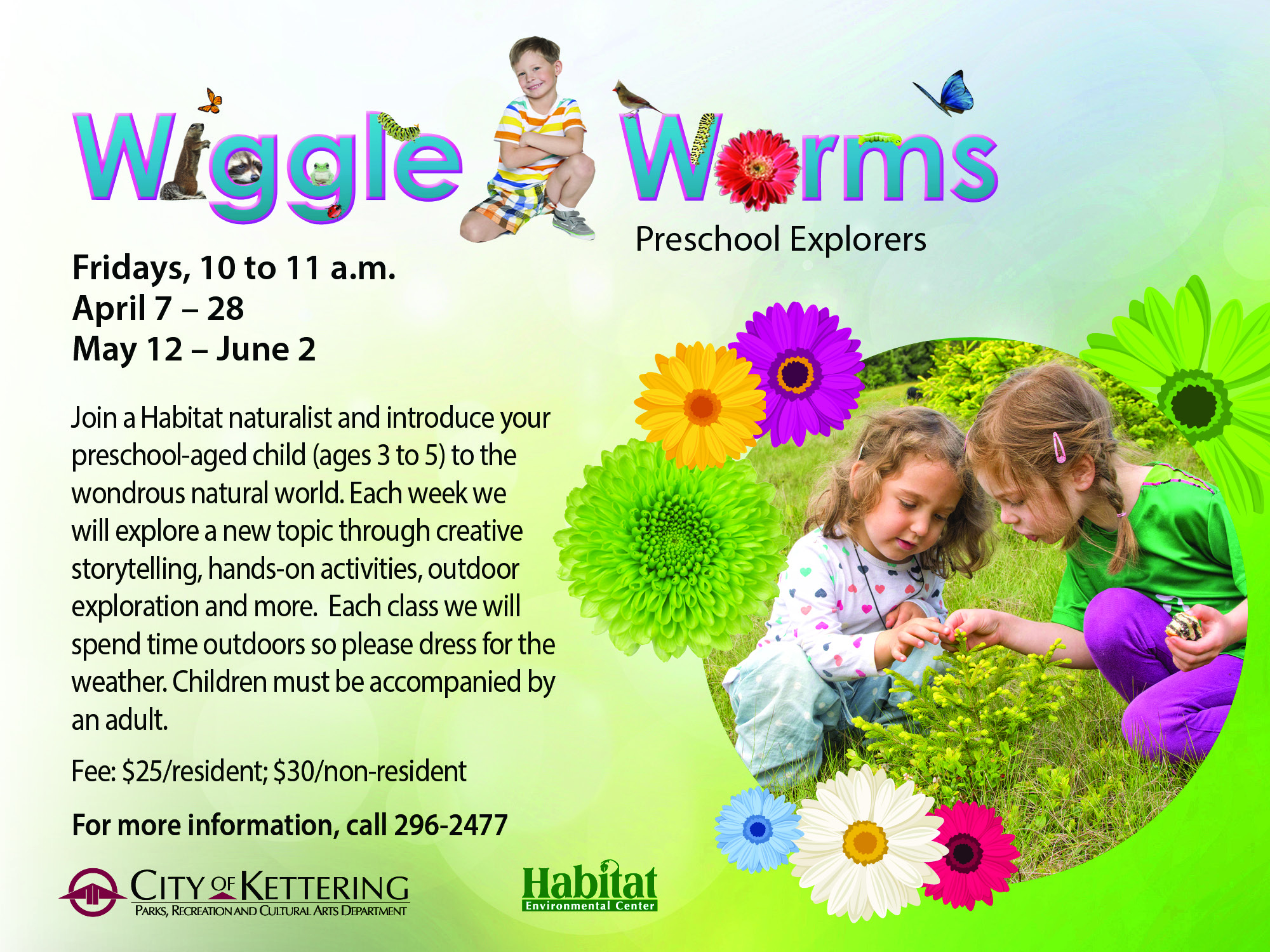Wiggle Worms Flyer