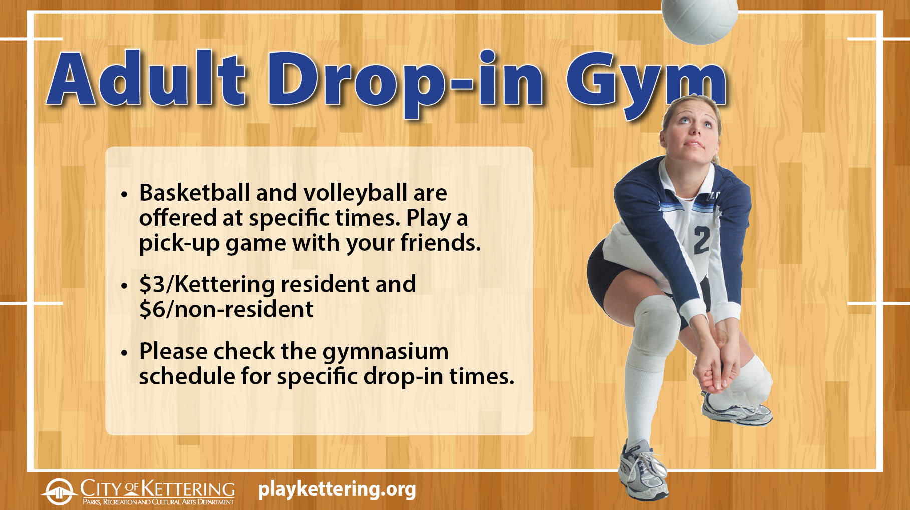 adult drop in gym