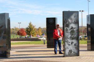Veterans Plaza and Charles F. Kettering History Walk