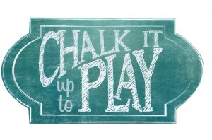 chalk it up to play logo
