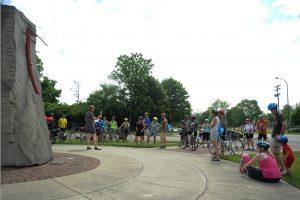 bike the arts crowd