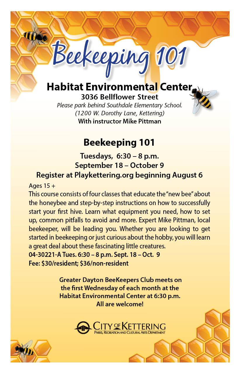 beekeeping flyer