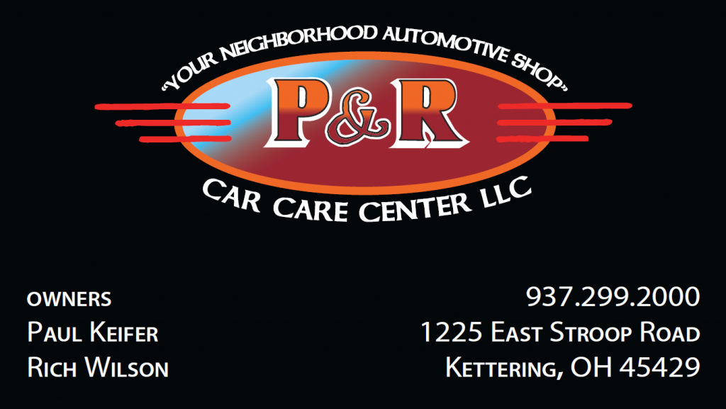 p and r car care logo