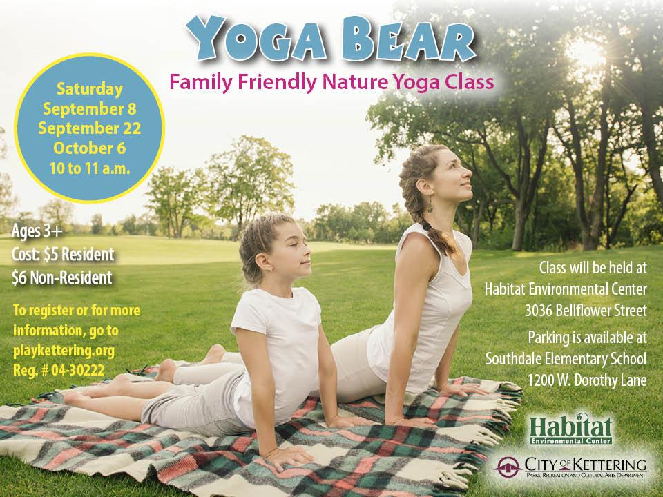 yoga bear flyer