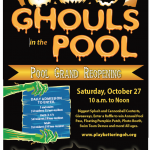 ghouls in the pool flyer