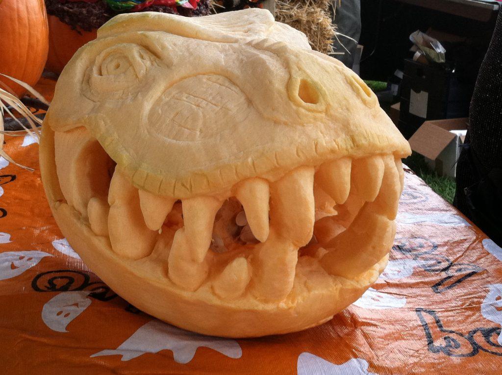 trex pumpkin