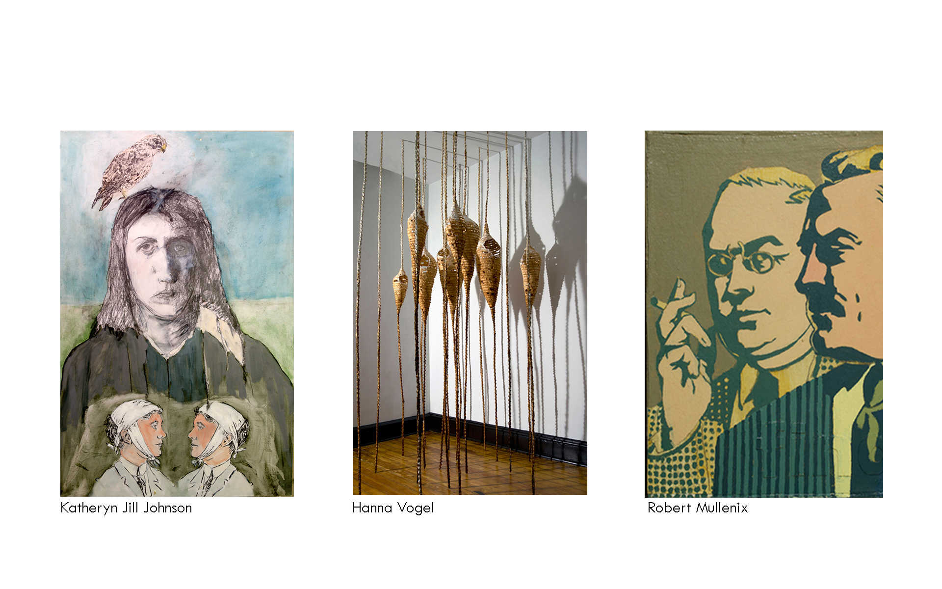 solo exhibitions triptych