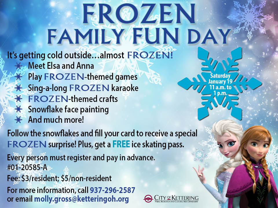 frozen flyer