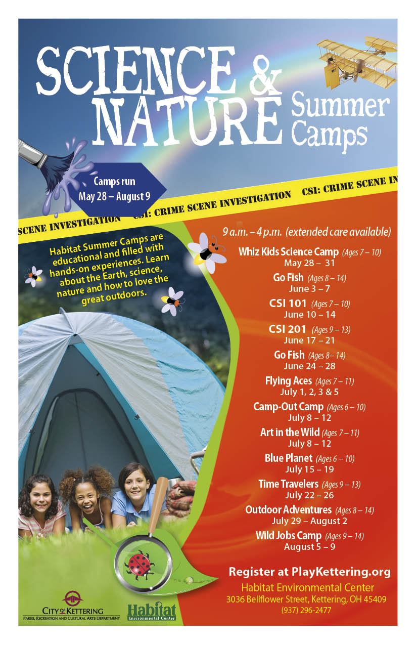 habitat camp flyer