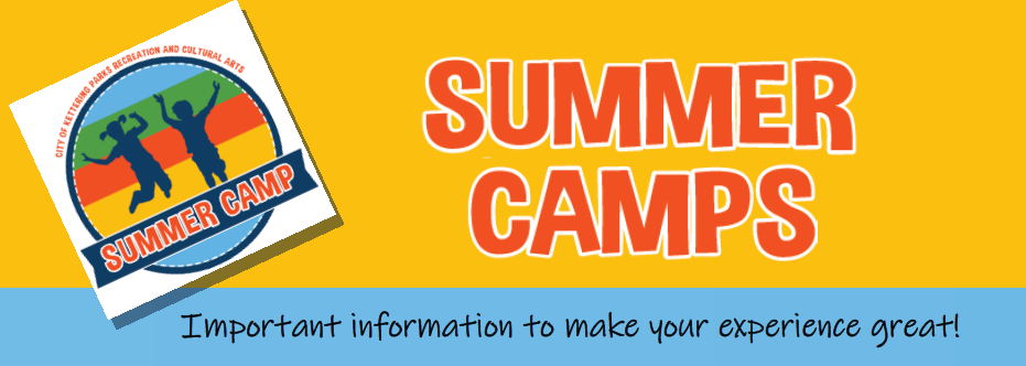 camp info banner