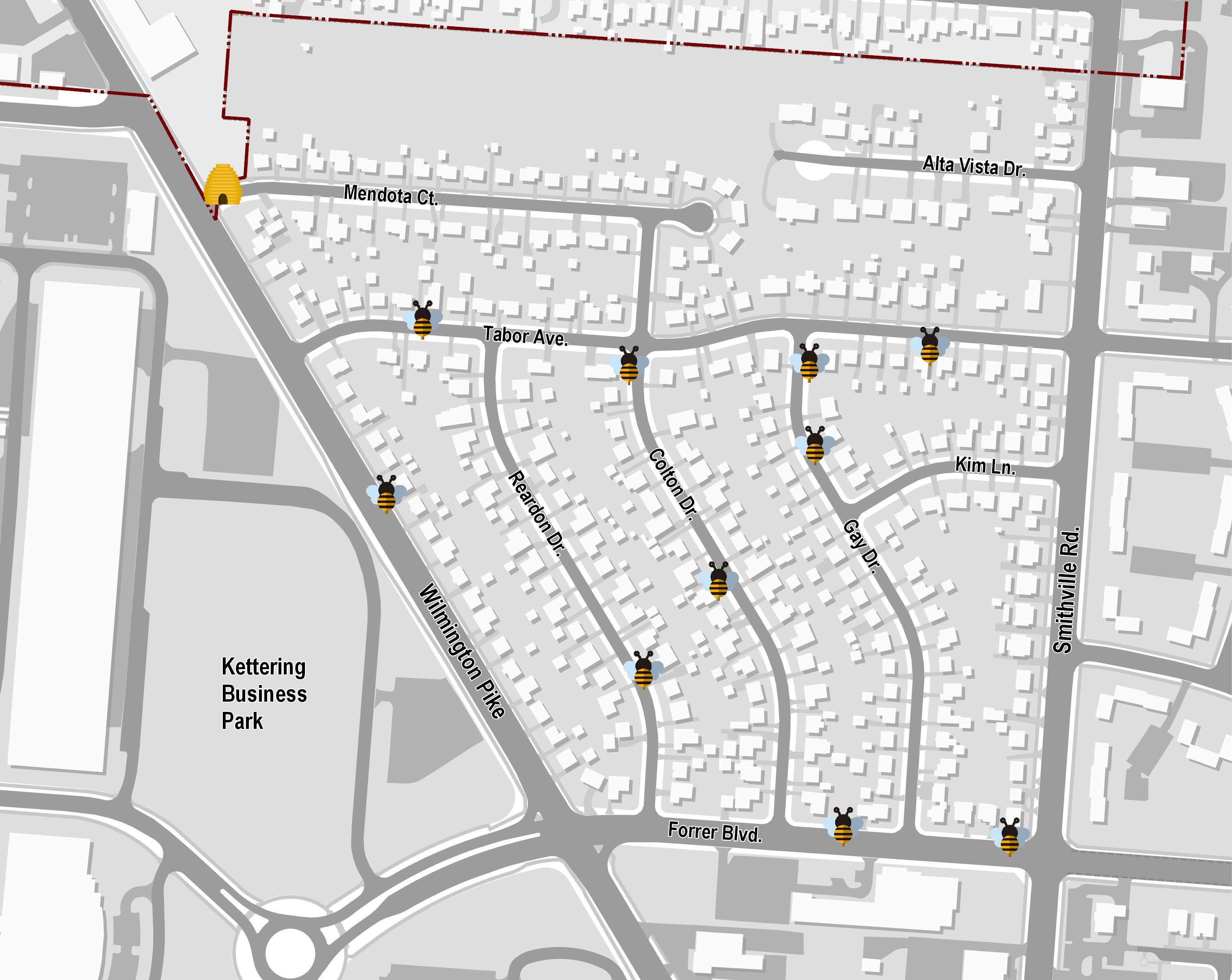 artwork location map