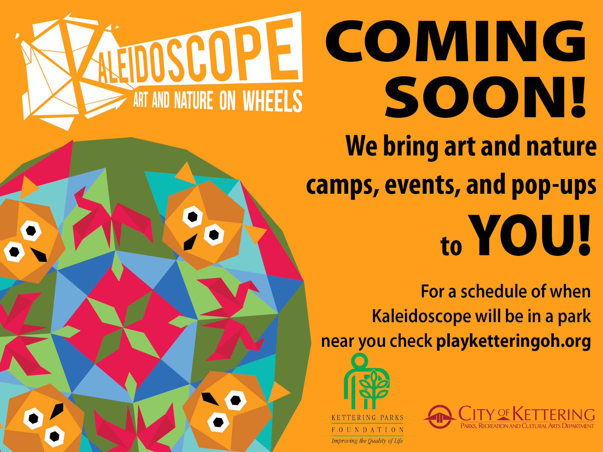 kaleidoscope flyer