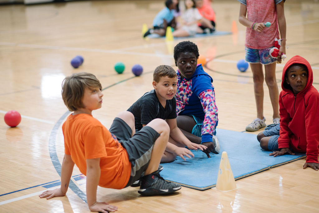 kids in gym