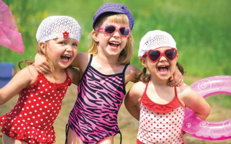 preschoolers outdoors