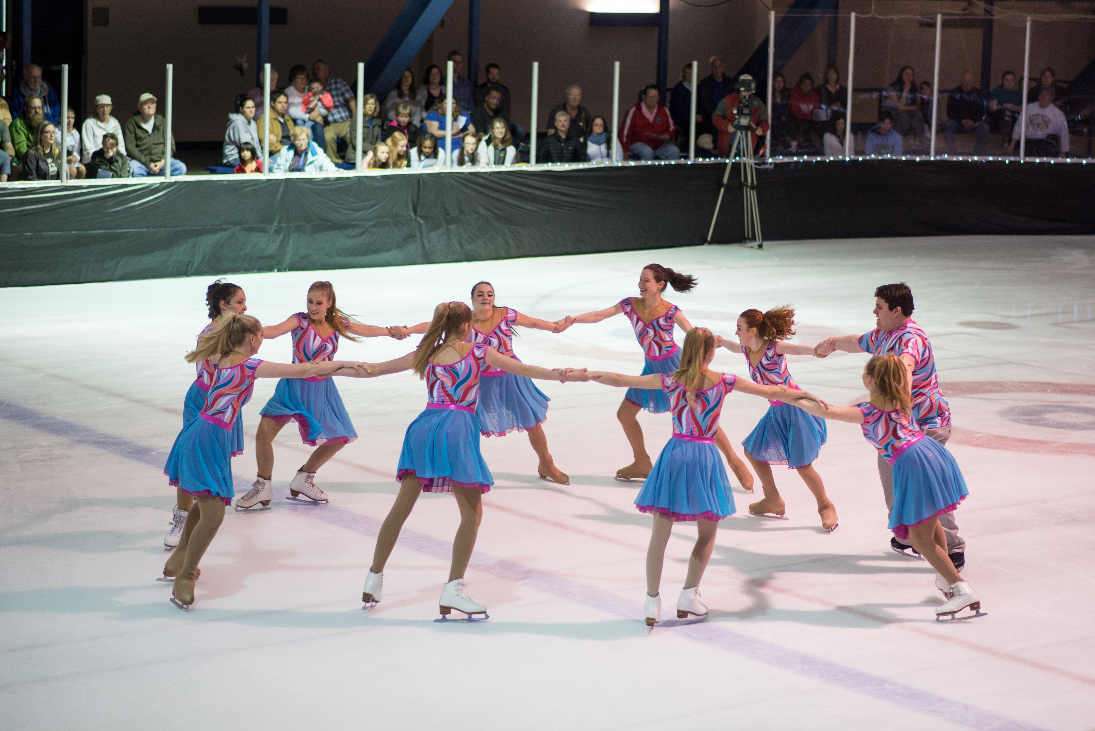 synchro skating