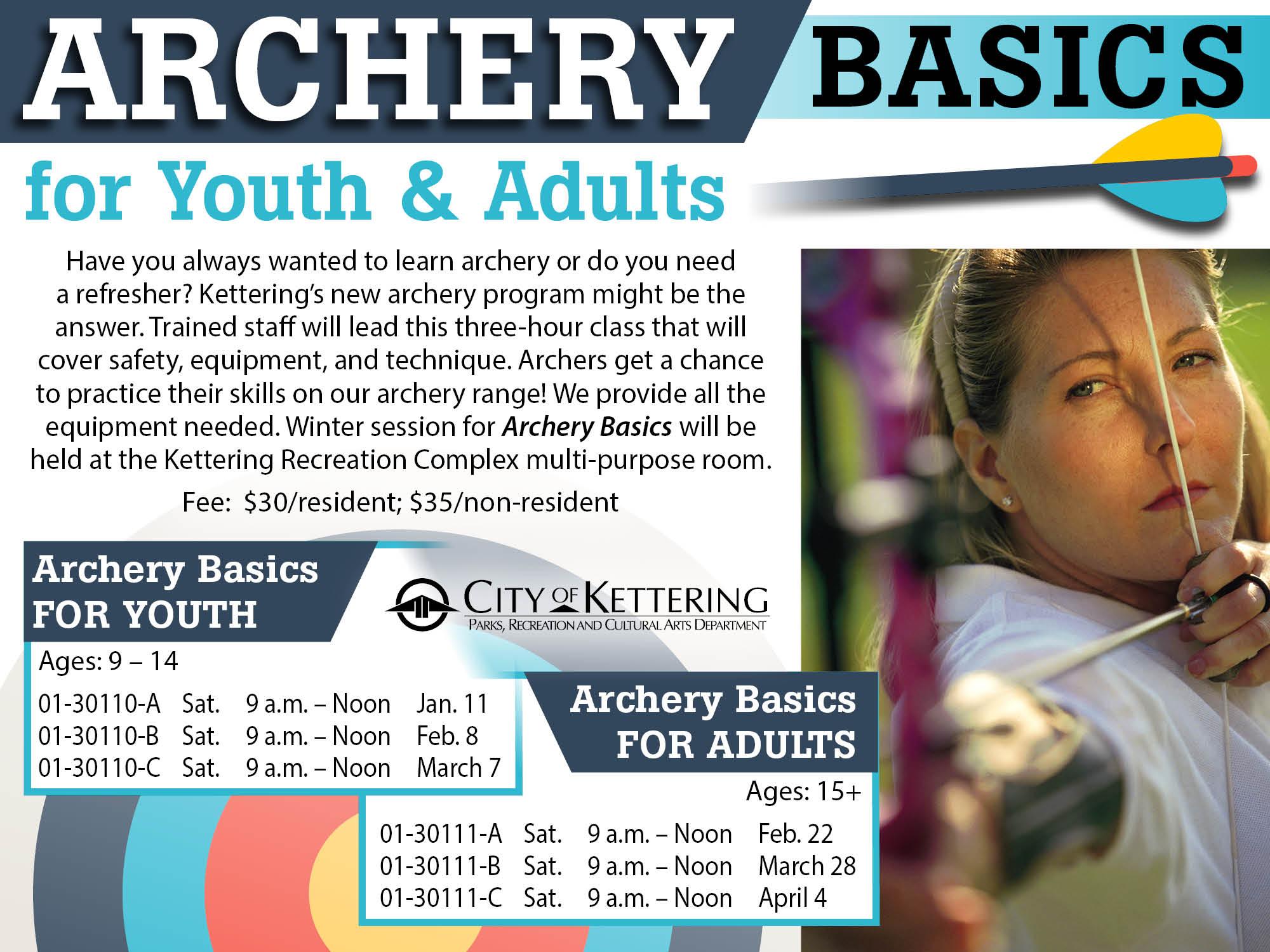 archery flyer