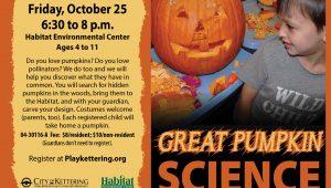 pumpkin science flyer