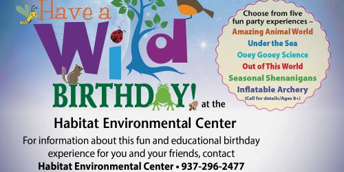 habitat birthday flyer