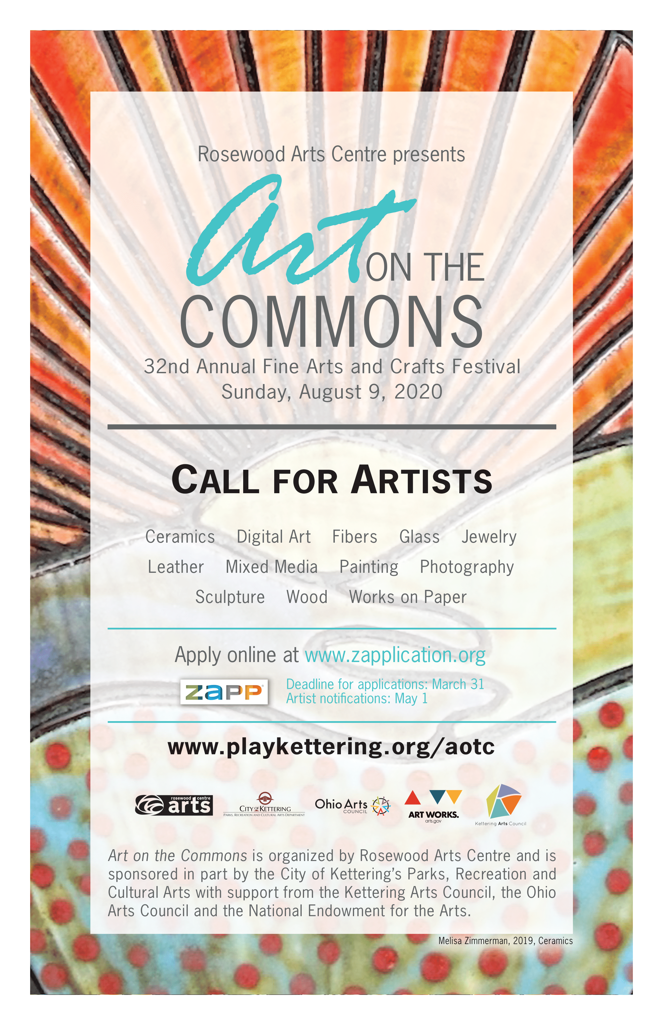 aotc call for artists poster