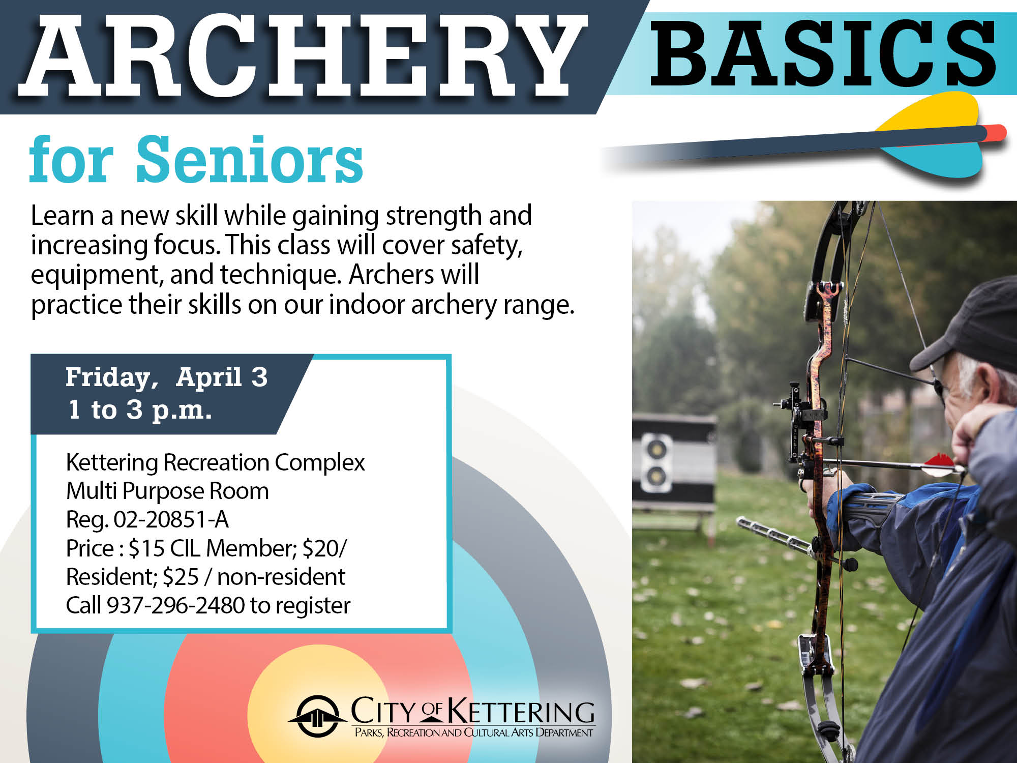 archery seniors flyer