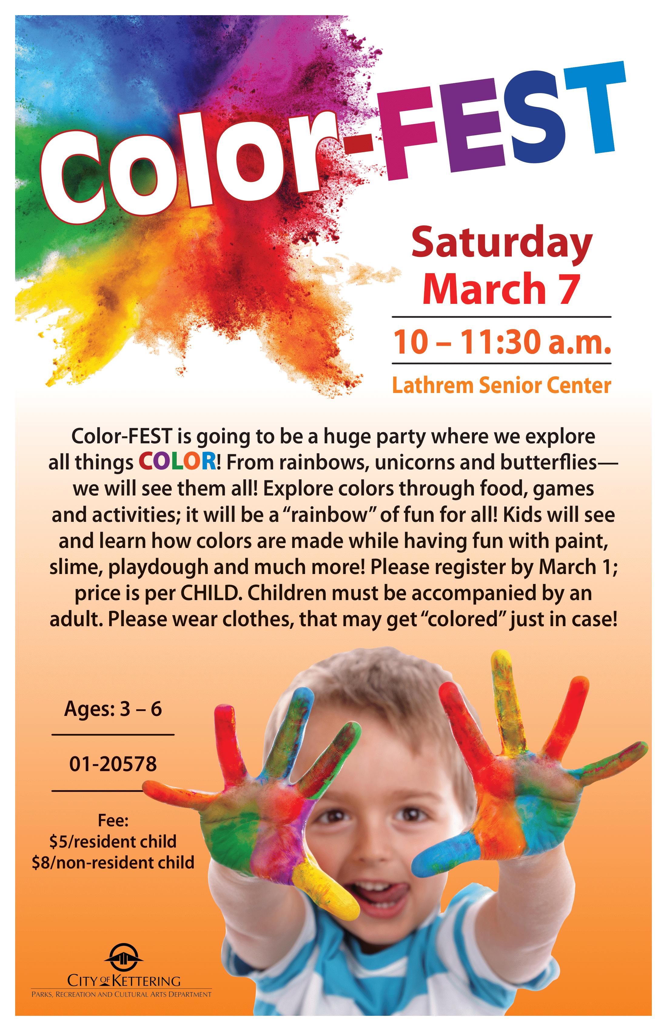 colorfest 20 poster