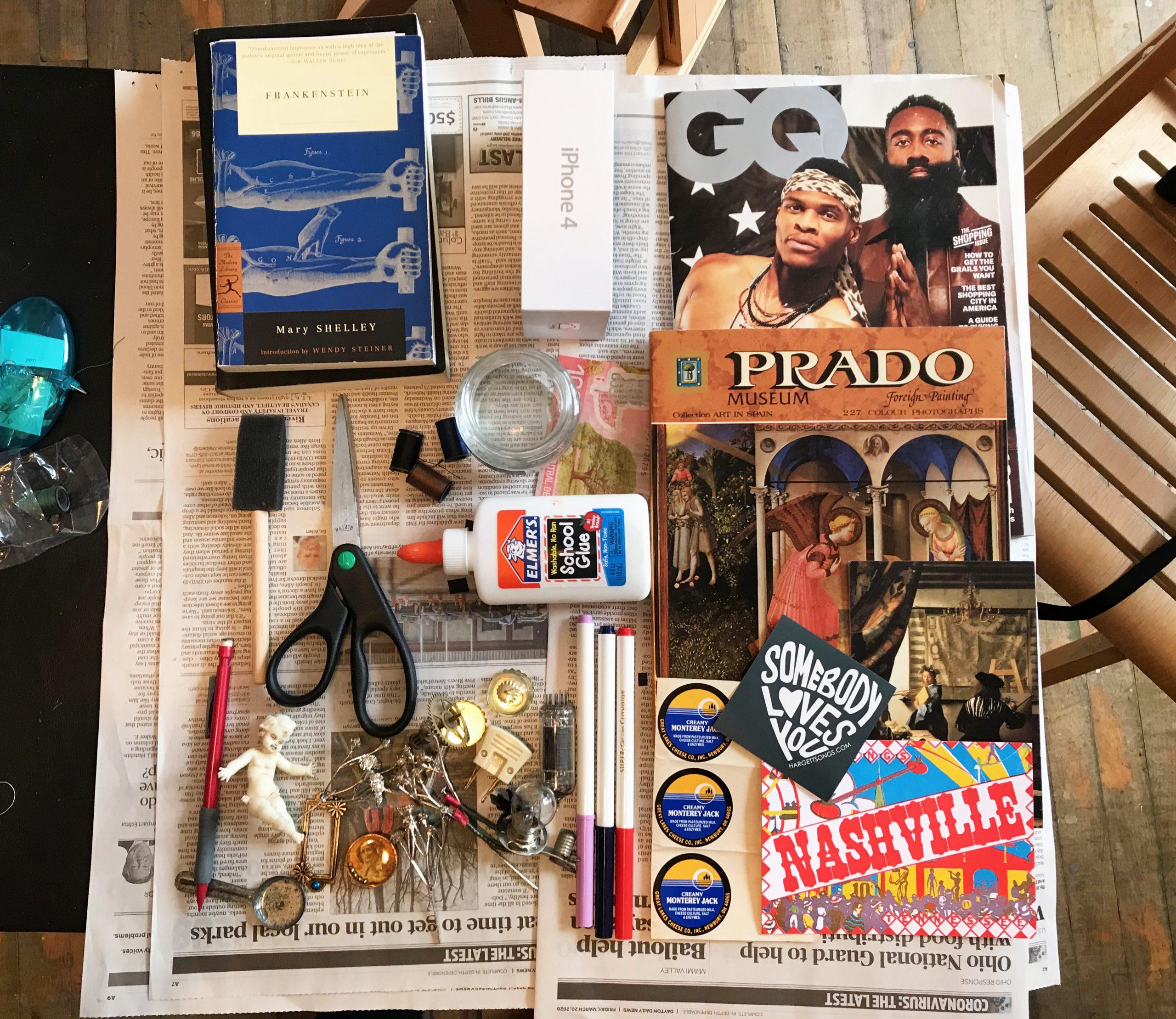 collage materials