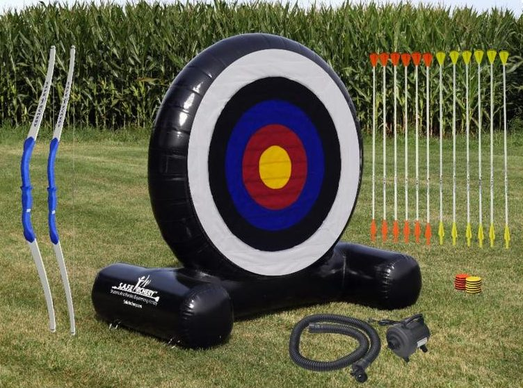 inflatable archery set