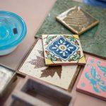 pottery tiles