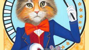 magician cat