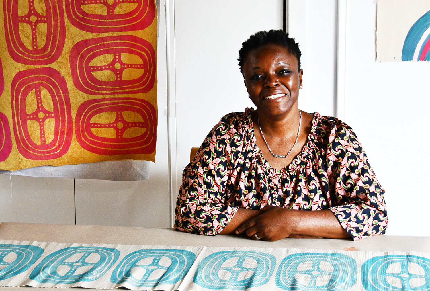 Yetunde Rodriguez Art on the Commons Artist