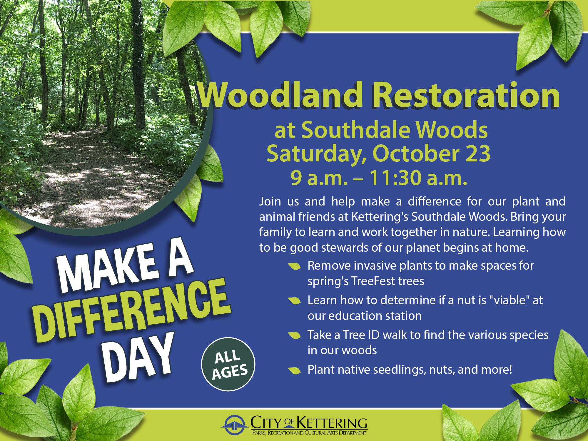 woodland graphic
