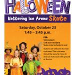 halloween skate poster