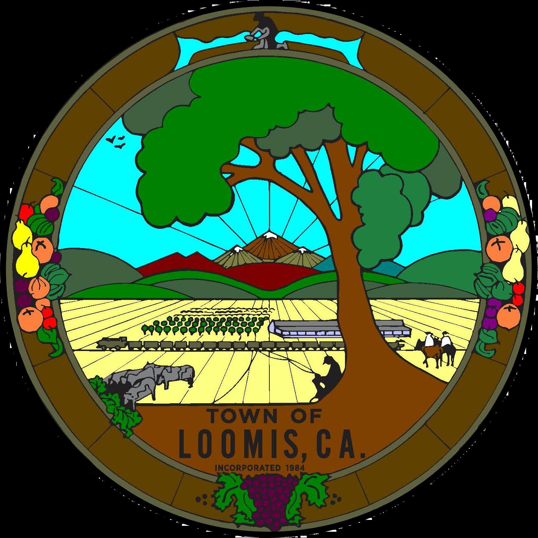Loomis CA Town Seal