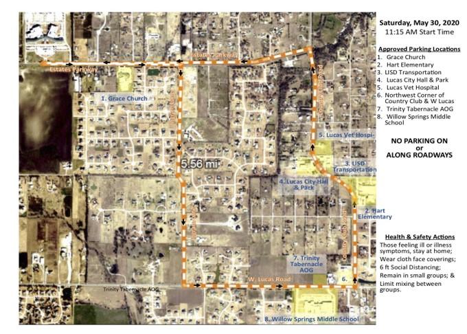 Lovejoy Parade Map
