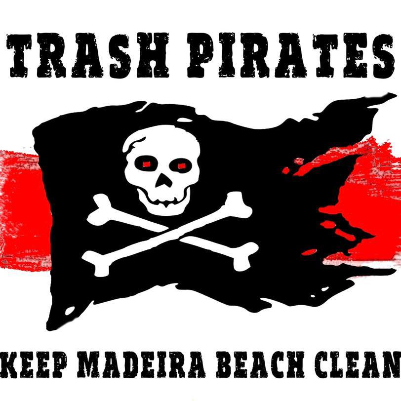 Trash Pirates Logo Keep Madeira Beach Clean